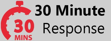 30 Min Responce Time
