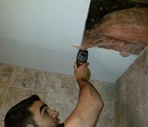 Detecting Wet Areas