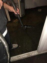 Vacuuming Water