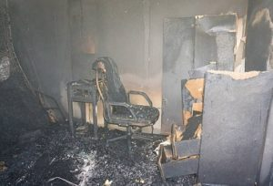Aftermath of Fire Damage