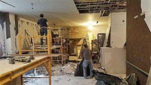 Full Room Restoration Process