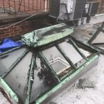 Fire Damage on Rooftop